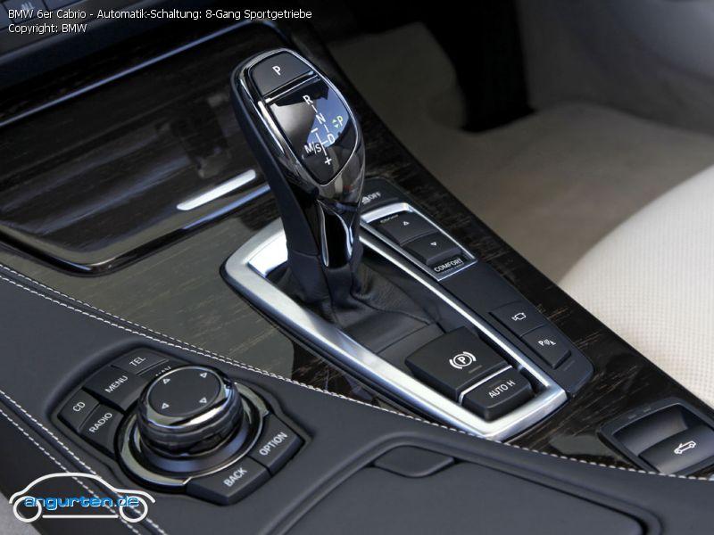 Foto (Bild): BMW 6er Cabrio - Automatik-Schaltung: 8-Gang ...