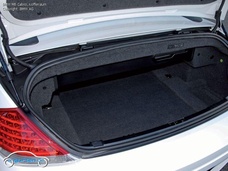 foto bild bmw m6 cabrio kofferraum. Black Bedroom Furniture Sets. Home Design Ideas