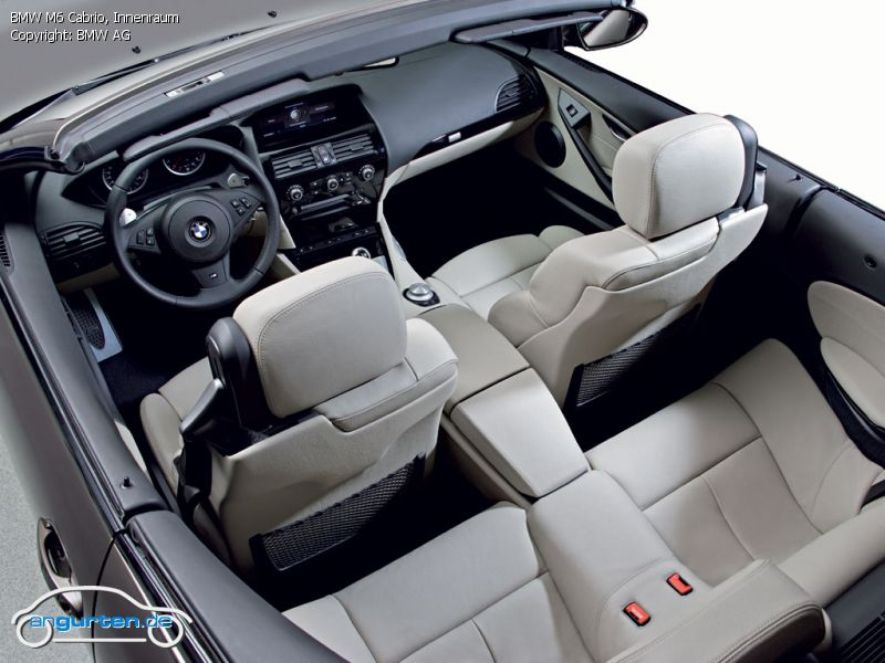 Foto Bild Bmw M6 Cabrio Innenraum Angurten De