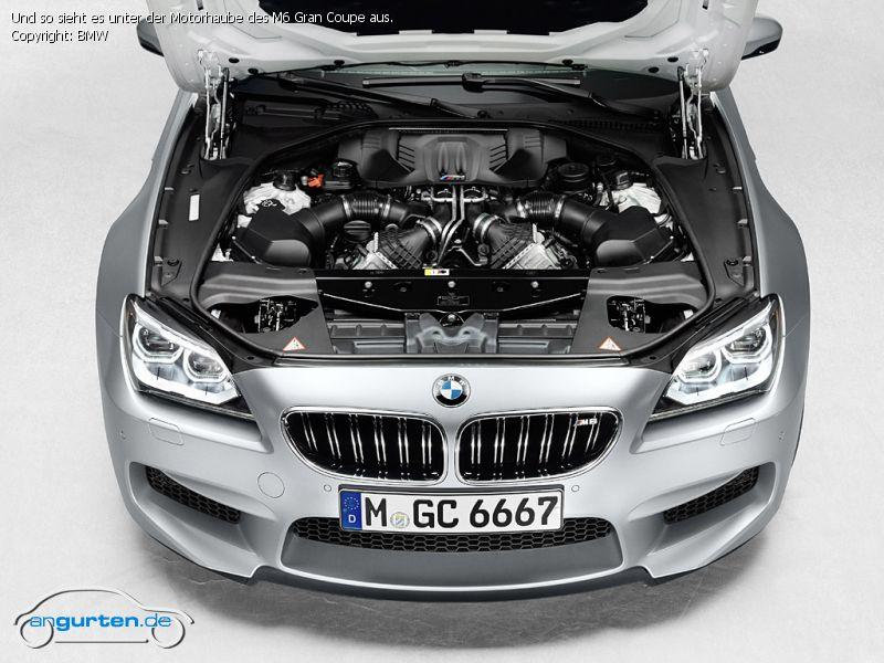 Foto Und So Sieht Es Unter Der Motorhaube Des M6 Gran
