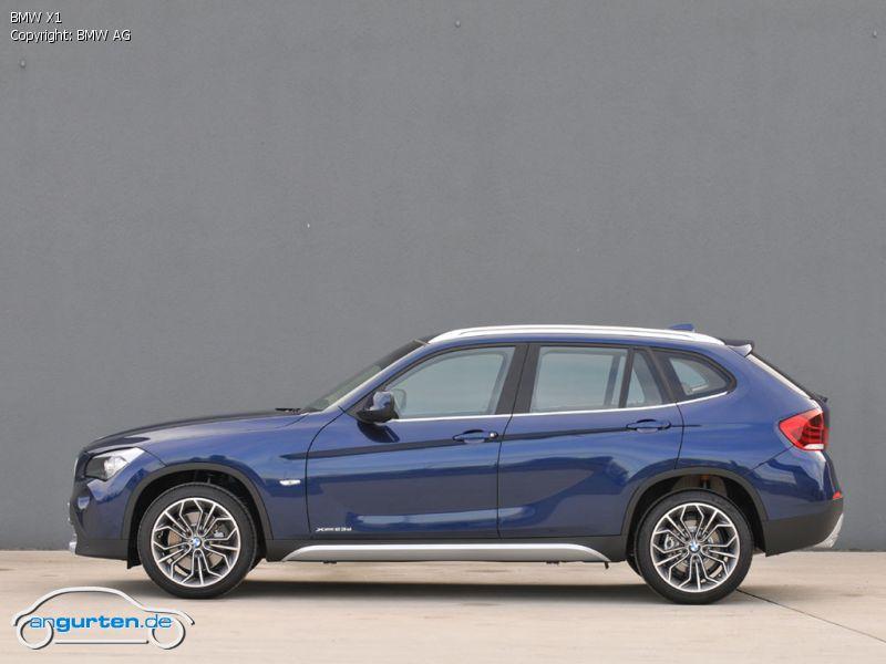 BMW X1 Tiefseeblau Metallic - Farben