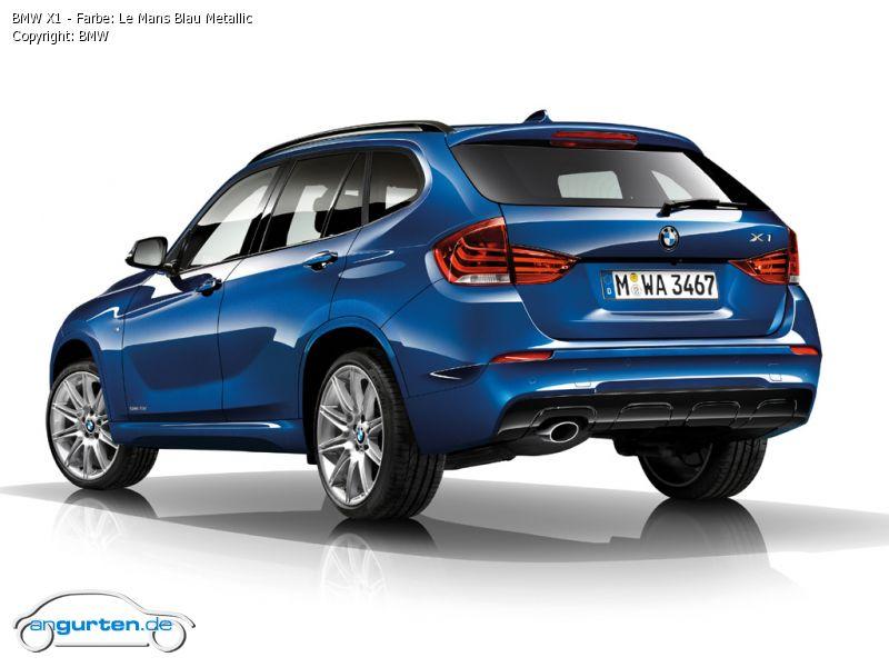 BMW X1 Le Mans Blau Metallic - Farben