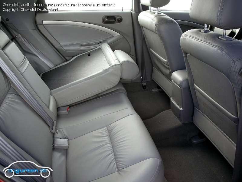 Foto Bild Chevrolet Lacetti Innenraum Fond Mit
