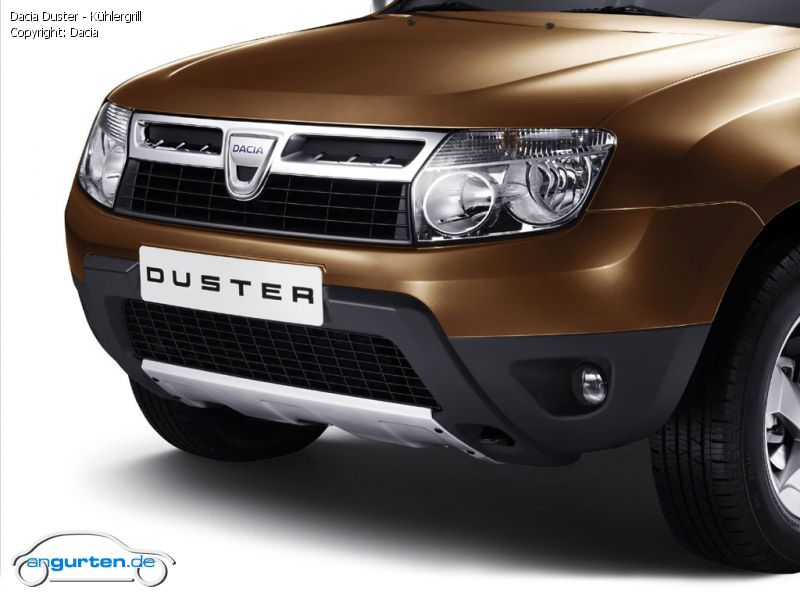 foto dacia duster k hlergrill bilder dacia duster. Black Bedroom Furniture Sets. Home Design Ideas
