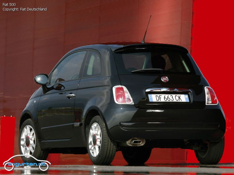 foto fiat 500 bilder fiat 500 bildgalerie bild 2. Black Bedroom Furniture Sets. Home Design Ideas