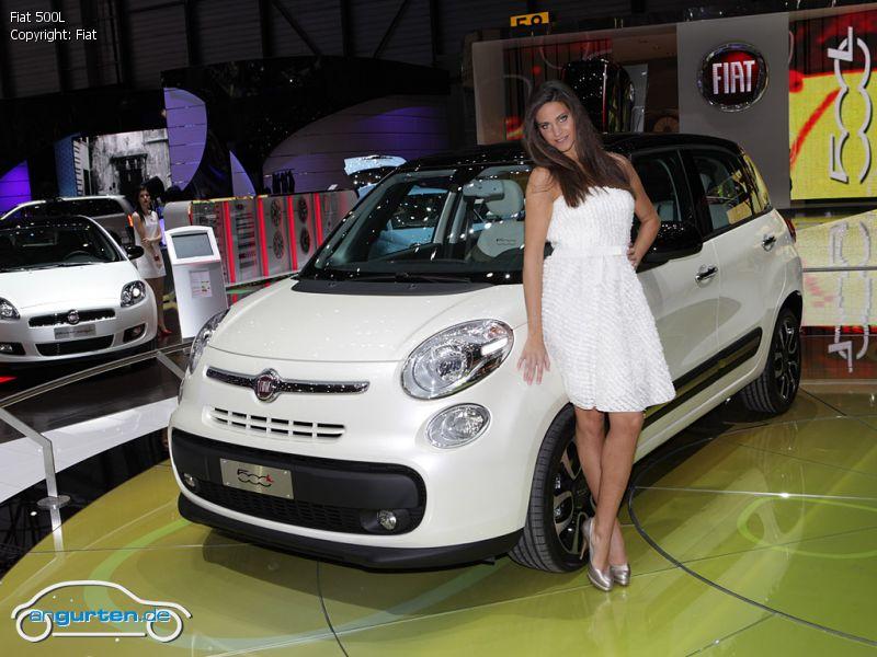 Foto Fiat 500l Bilder Fiat 500l Bildgalerie Bild 1