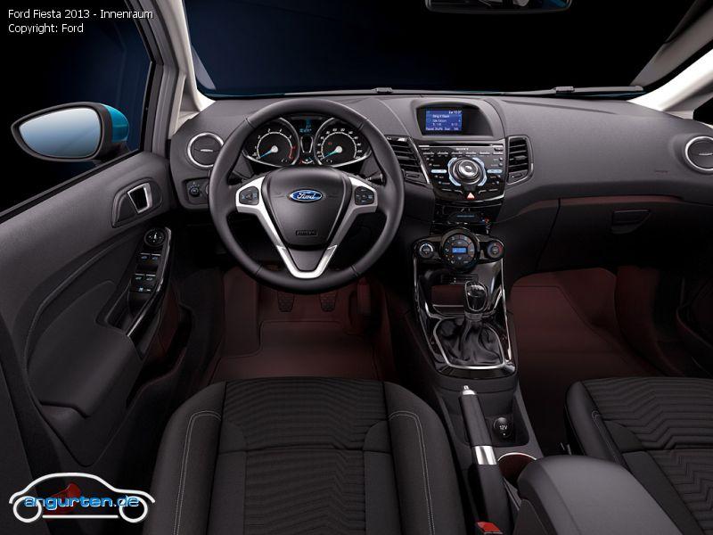 Foto Bild Ford Fiesta 2013 Innenraum Angurten De