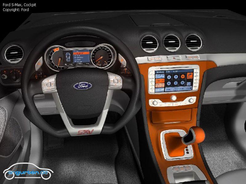 Foto Bild Ford S Max Cockpit Angurtende