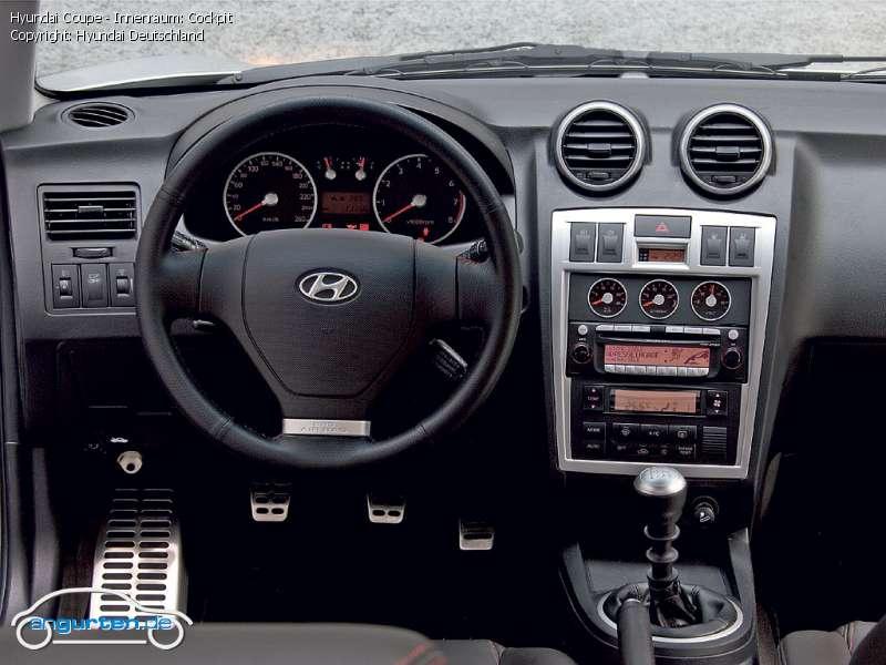 Foto Bild Hyundai Coupe Innenraum Cockpit Angurten De