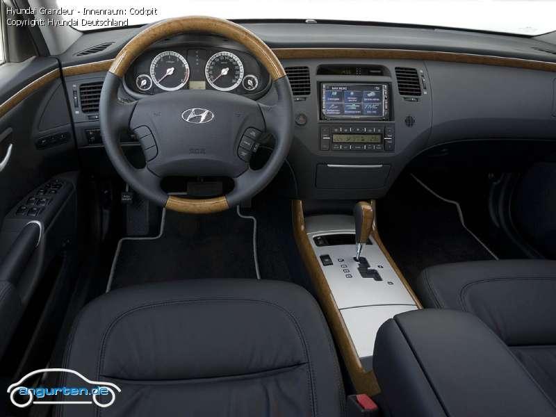 Foto Bild Hyundai Grandeur Innenraum Cockpit