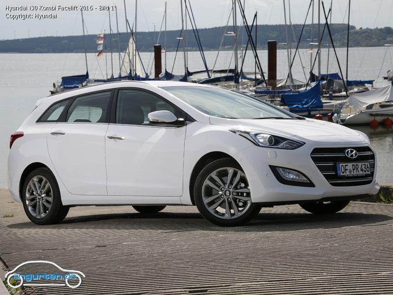 Foto (Bild): Hyundai i30 Kombi Facelift 2016 - Bild 1 ...
