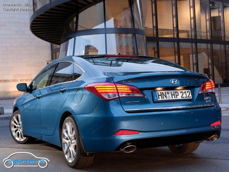 Hyundai i40 - Fotos & Bilder