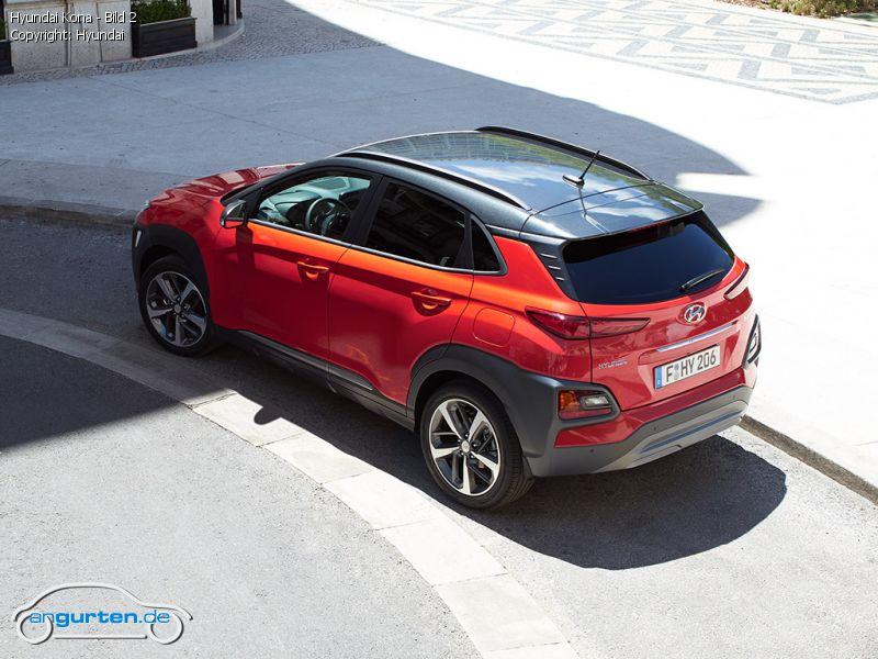 Hyundai Santa Fe 2017 >> Hyundai Kona - Fotos & Bilder