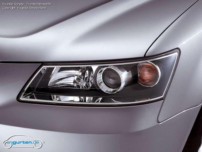 Foto Hyundai Sonata Frontscheinwerfer Bilder Hyundai