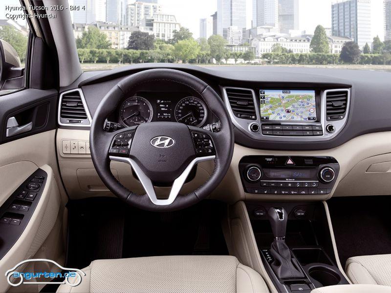 Foto Bild Hyundai Tucson 2016 Bild 4 Angurten De