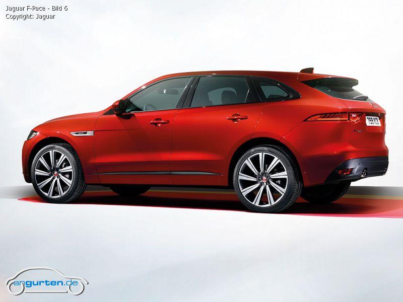 Jaguar F-Pace - Fotos & Bilder