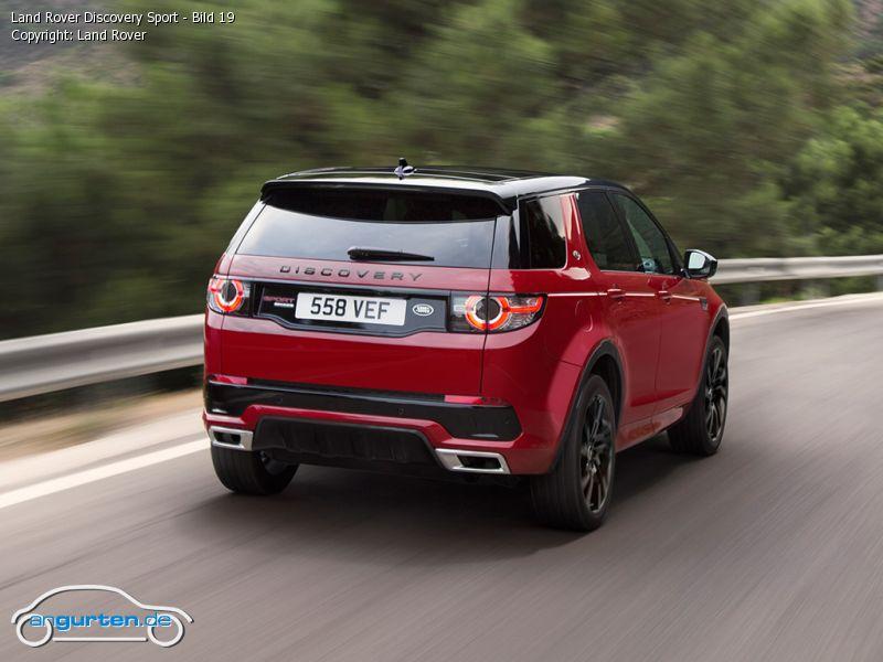 Foto Land Rover Discovery >> Foto Land Rover Discovery Sport - Bild 19 - Bilder Land Rover Discovery Sport - Bildgalerie ...