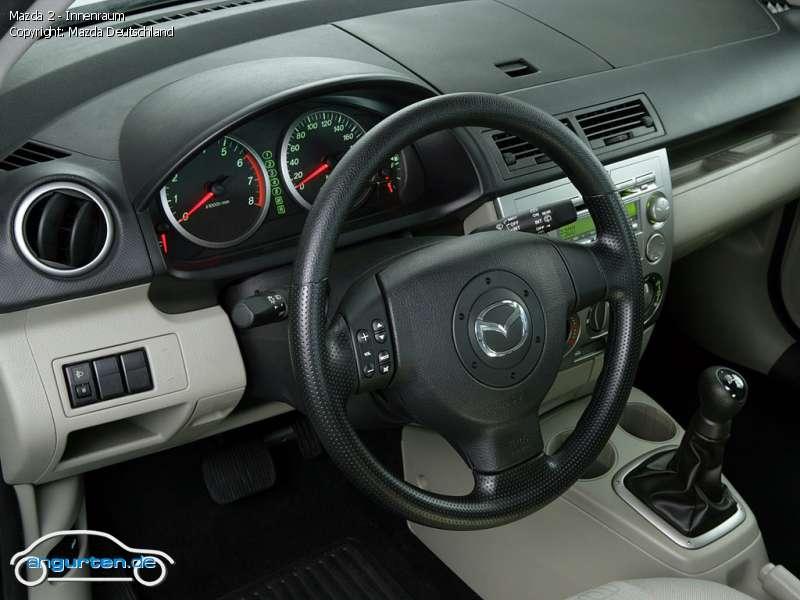 Foto Bild Mazda 2 Innenraum Angurten De