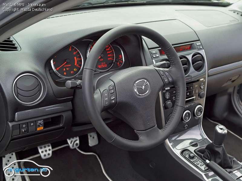 Foto Bild Mazda 6 Mps Innenraum Angurten De