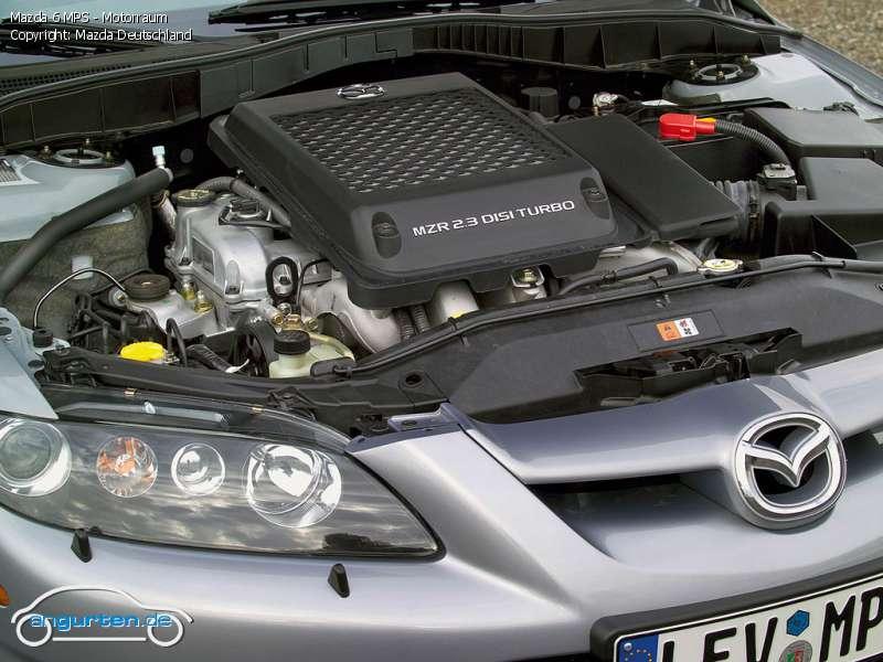 Mazda Zoom Zoom >> Foto Mazda 6 MPS - Motorraum - Bilder Mazda 6 MPS - Bildgalerie (Bild 15)