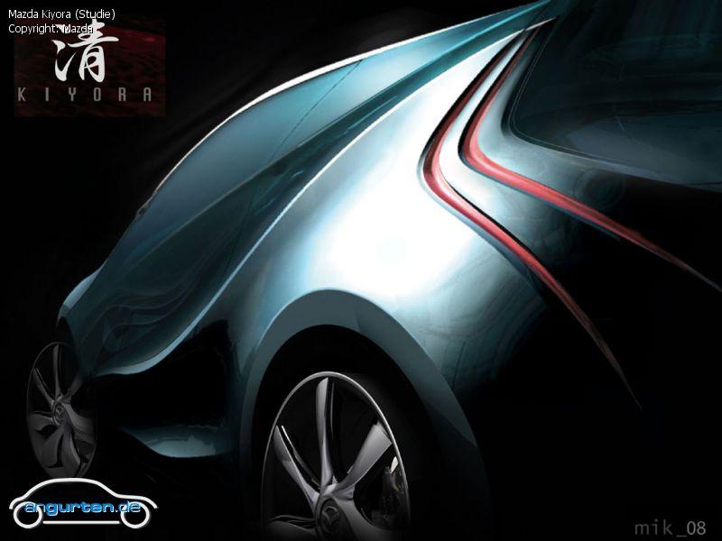 Mazda Zoom Zoom >> Foto Mazda Kiyora (Studie) - Bilder Mazda Kiyora (Studie) - Bildgalerie (Bild 11)