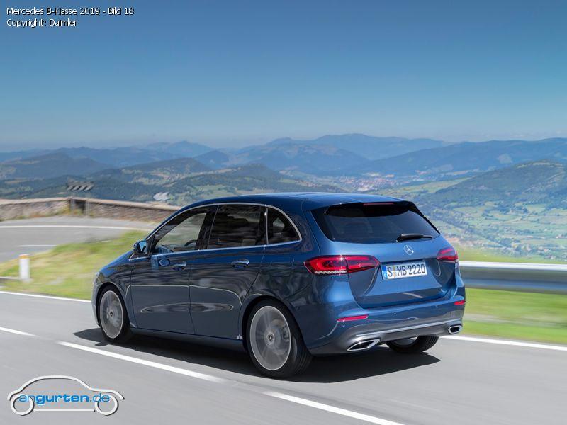 Mercedes Benz B Klasse 2019 Fotos Amp Bilder