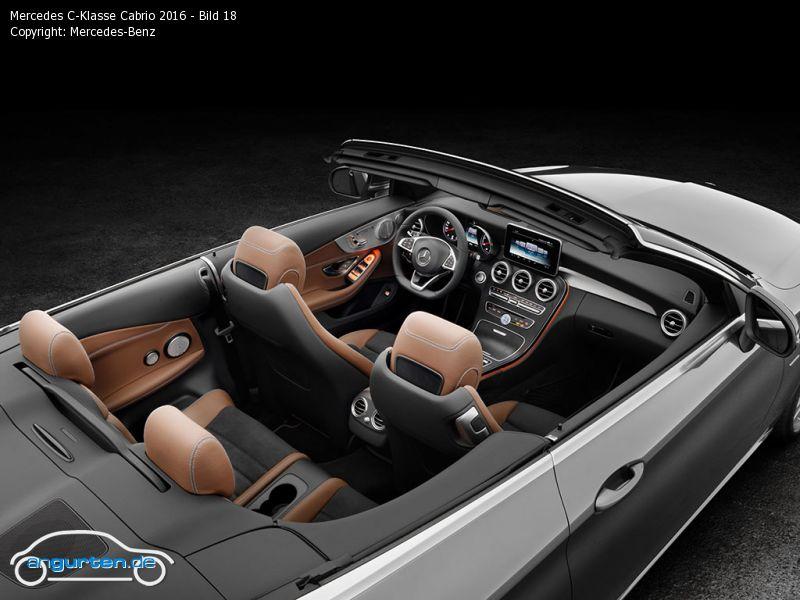 foto bild mercedes c klasse cabrio 2016 bild 18. Black Bedroom Furniture Sets. Home Design Ideas