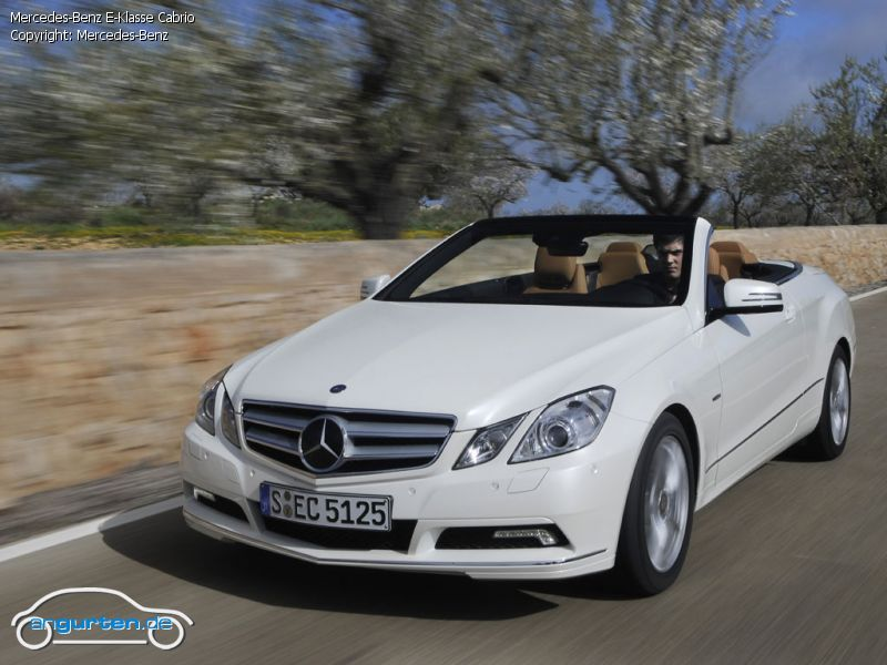 foto bild mercedes benz e klasse cabrio. Black Bedroom Furniture Sets. Home Design Ideas