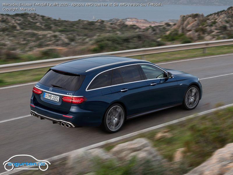 Foto (Bild): Mercedes E-Klasse T-Modell Facelift 2020 ...