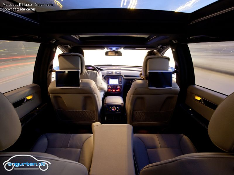 Foto Mercedes R Klasse Innenraum Bilder Mercedes Benz