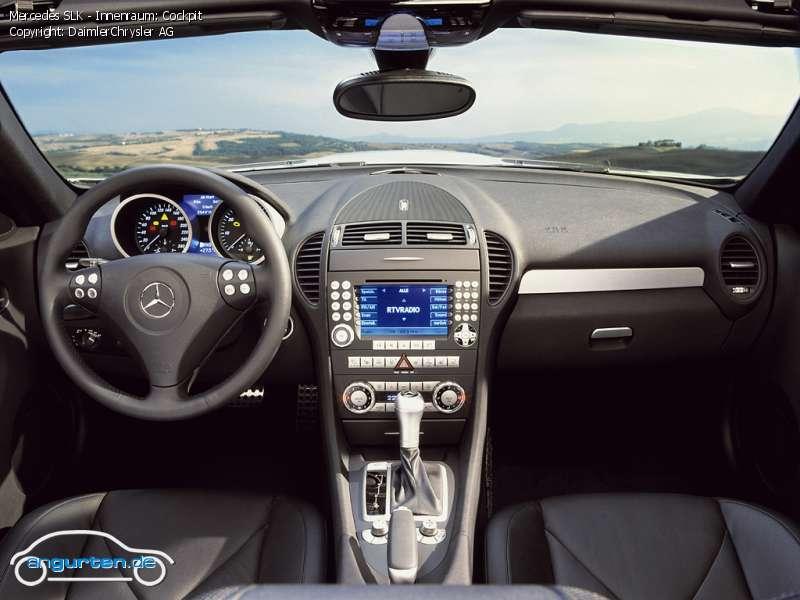 Foto Bild Mercedes Slk Innenraum Cockpit Angurten De