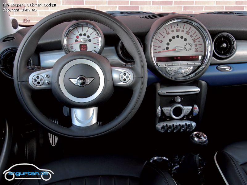 Foto (Bild): Mini Cooper S Clubman, Cockpit (angurten.de)