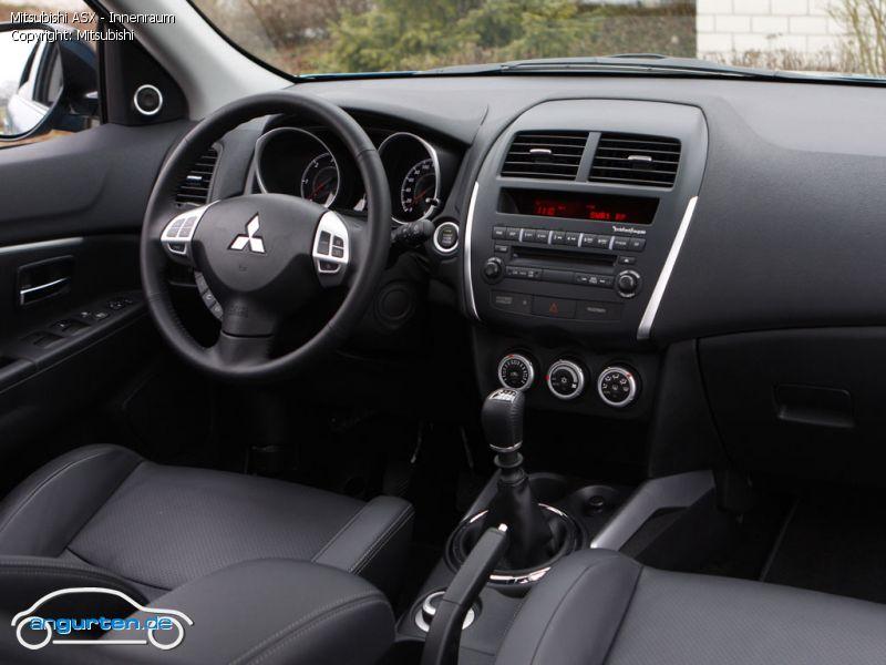 Foto Bild Mitsubishi Asx Innenraum Angurten De