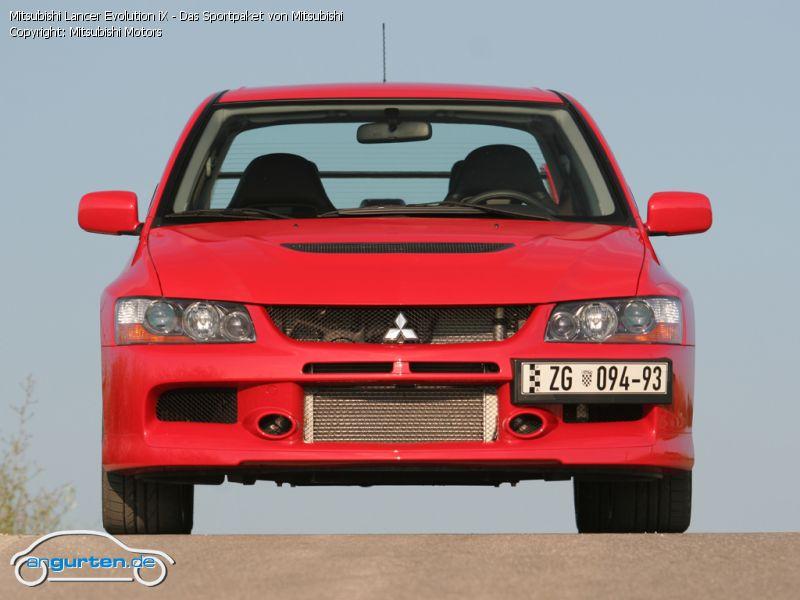 Foto Mitsubishi Lancer Evolution iX - Das Sportpaket von Mitsubishi - Bilder Mitsubishi Lancer ...