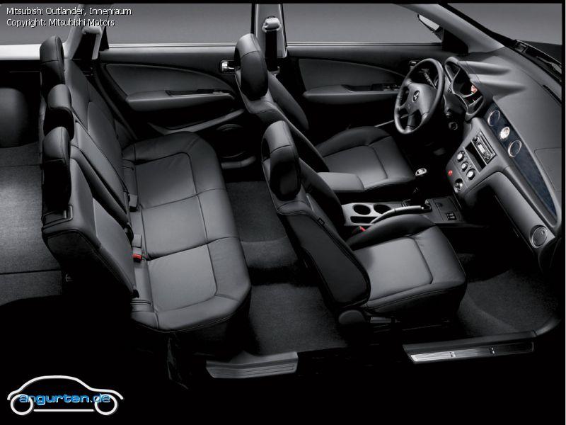 Foto Bild Mitsubishi Outlander Innenraum Angurten De