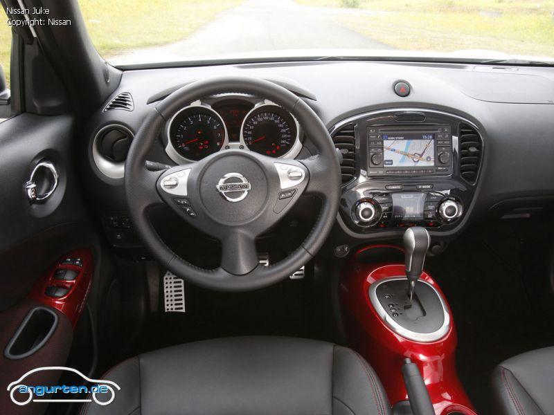 Nissan juke fotos bilder for Nissan juke innenraum