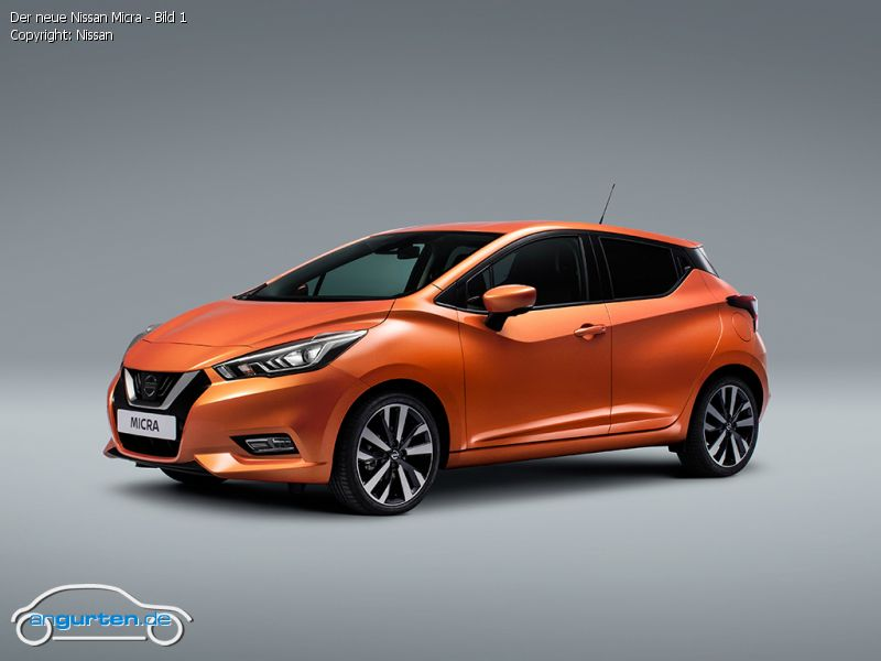 Foto Der neue Nissan Micra - Bild 1 - Bilder Nissan Micra ...