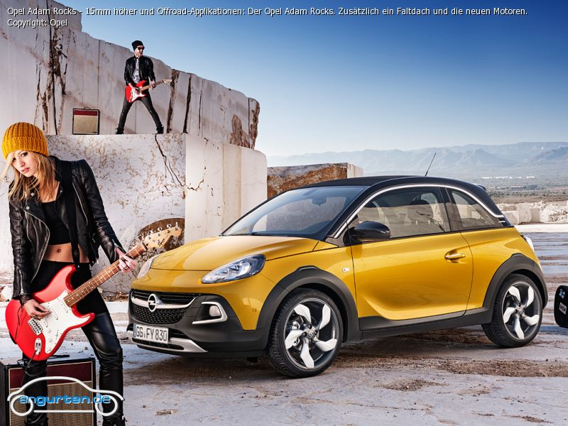 foto bild opel adam rocks 15mm h her und offroad. Black Bedroom Furniture Sets. Home Design Ideas