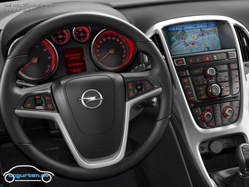 Foto (Bild): Opel Astra GTC - Instrumente (angurten.de)