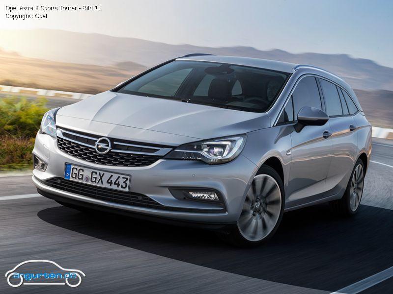 Opel Astra K Sports Tourer - Fotos & Bilder