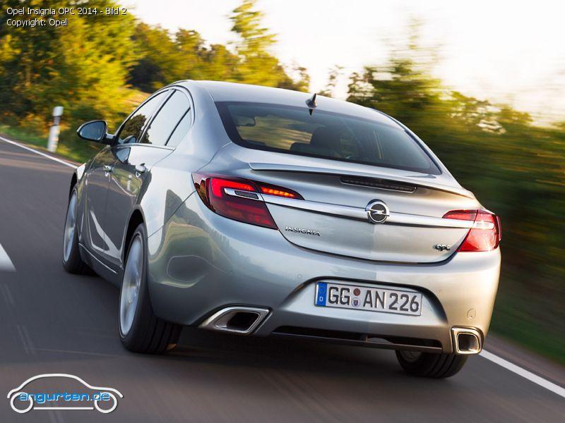 Foto (Bild): Opel Insignia OPC 2014 - Bild 2 (angurten.de)