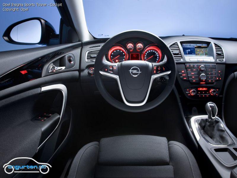 Foto (Bild): Opel Insignia Sports Tourer - Cockpit ...