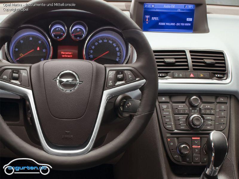 Opel Meriva B Fotos Amp Bilder