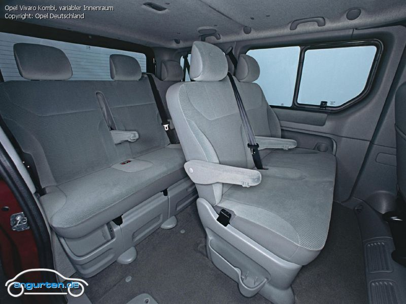 Foto (Bild): Opel Vivaro Kombi, variabler Innenraum ...