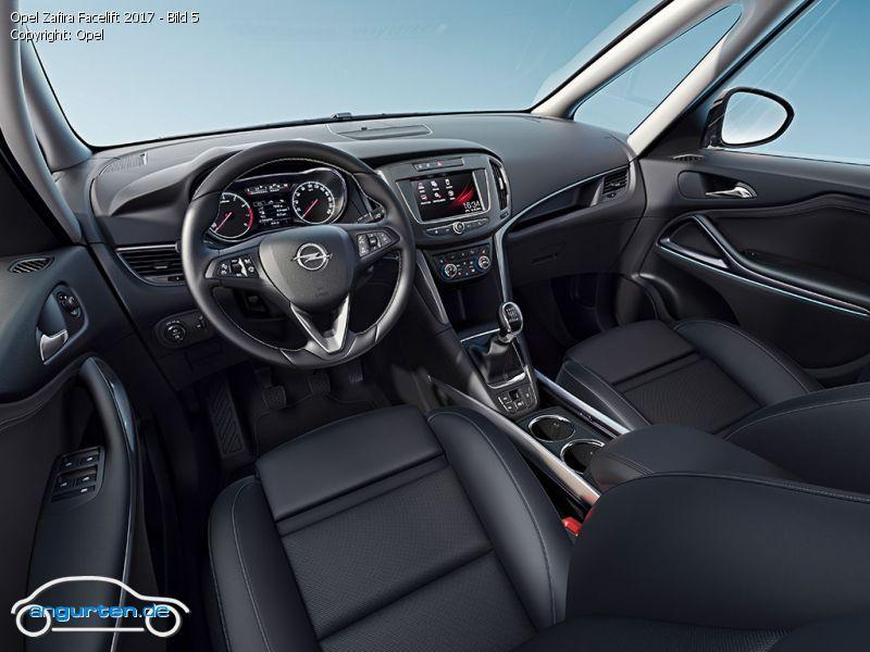 Foto Opel Zafira Facelift 2017 Bild 5 Bilder Opel
