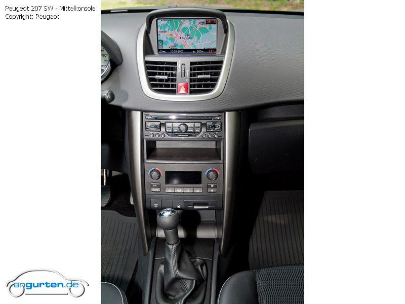 Peugeot 206 Uhr Beleuchtung | peugeot 207 sw 007