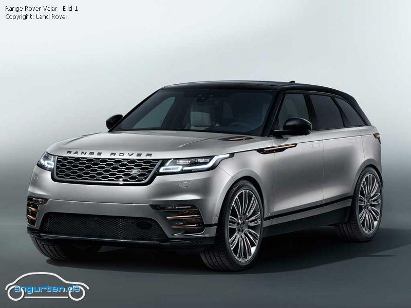 Foto Range Rover Velar - Bild 1 - Bilder Range Rover Velar ...