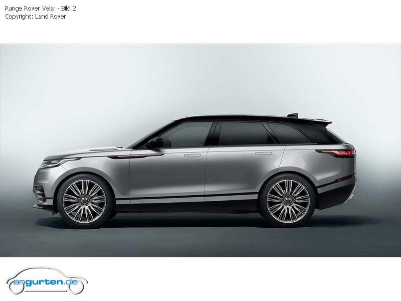 Range Rover Discovery Sport >> Land Rover Range Rover Velar - Fotos & Bilder