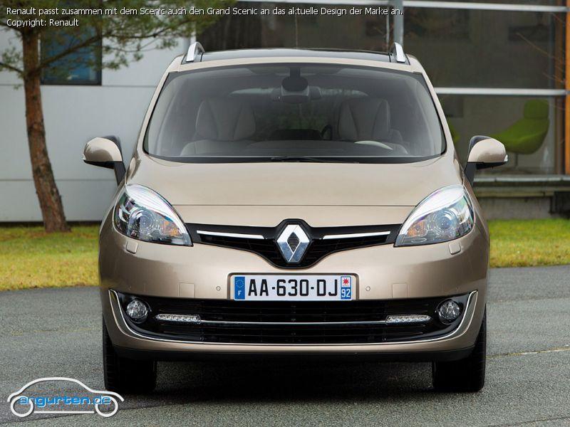 Foto Bild Renault Passt Zusammen Mit Dem Scenic Auch Den Grand Scenic An Das Aktuelle Design