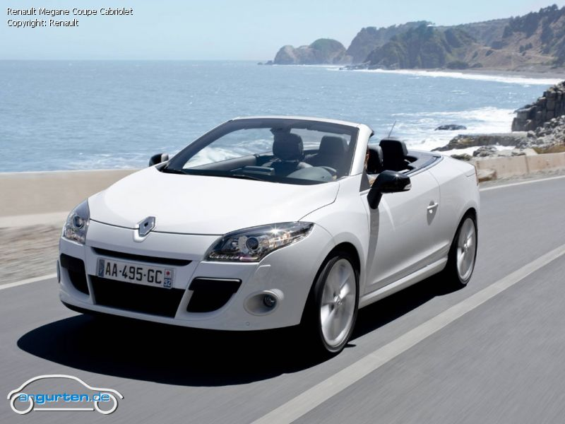 renault megane coupe cabriolet fotos bilder. Black Bedroom Furniture Sets. Home Design Ideas